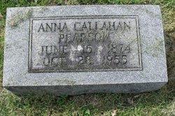 Anna <I>Callahan</I> Pearson
