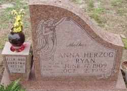 Anna Bertha <I>Herzog</I> Ryan