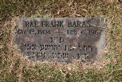 Rae <I>Frank</I> Baras
