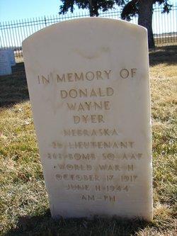 Donald W Dyer
