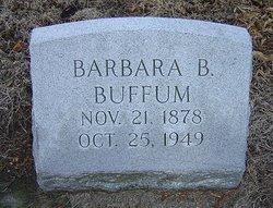 Barbara B <I>Fell</I> Buffum