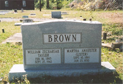"William Zechariah Taylor ""Willie"" Brown"