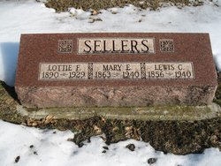 Mary Elizabeth <I>Adams</I> Sellers