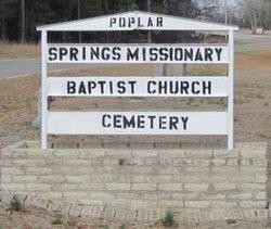 Poplar Springs Missionary Baptist Church Cemetery