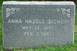 Anna Hazel <I>Hazell</I> Bishop