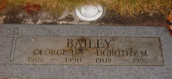Dorothy Madeline <I>Byland</I> Bailey