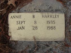 Annie Mildred <I>Becton</I> Harkley