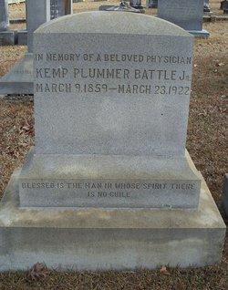 Dr Kemp Plummer Battle, Jr