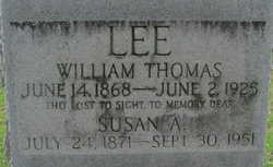 Susan A <I>Brown</I> Lee