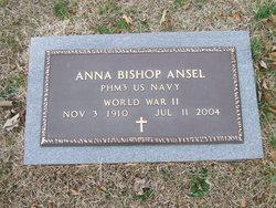 """Anna Katherine Elizabeth """"Betty"""" <I>Bishop</I> Ansel"""