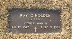 Ray Calvin Holder