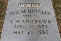 Ida M <I>Quigley</I> Andrews