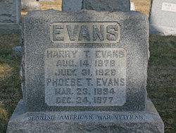 Harry T. Evans