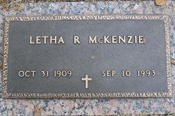 Letha M <I>Rich</I> McKenzie