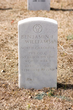 Pvt Benjamin Franklin Williams