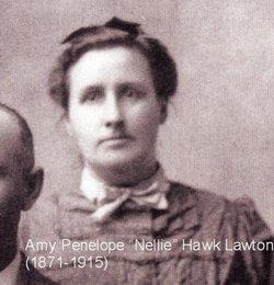"""Amy Penelope """"Nellie"""" <I>Hawk</I> Lawton"""