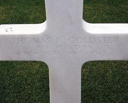 Pvt Thomas R Collister