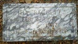 Ida <I>Johnston</I> Baggett