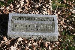 Frances <I>Knight</I> Yoost