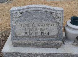 Bertie <I>Chesson</I> Ambrose