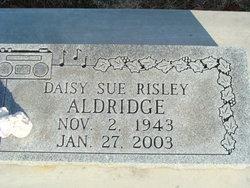 Daisy Sue <I>Risley</I> Aldridge
