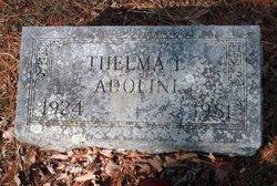 Thelma L. <I>Miller</I> Adolini