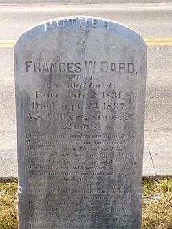 Frances W. <I>Bard</I> Bard
