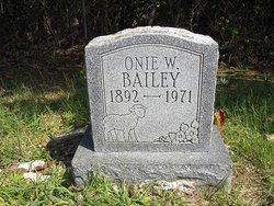Onie Bailey