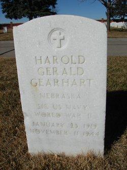 Harold Gerald Gearhart