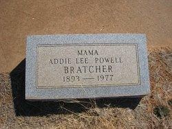 Addie Lee <I>Powell</I> Bratcher