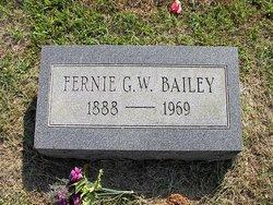Fernie G W Bailey