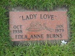 Edla Ann <I>Pendergrass</I> Burns