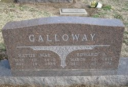 "Edward Albert ""Ned"" Galloway"