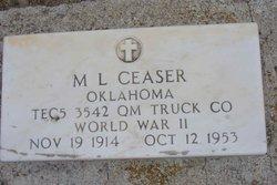 M L Ceaser