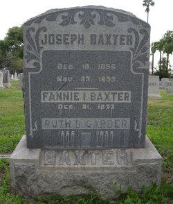 Fannie Irene <I>Arnold</I> Baxter