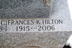 Mary Frances <I>Kelly</I> Hilton