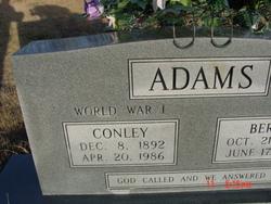 Berta Admonia <I>Massey</I> Adams