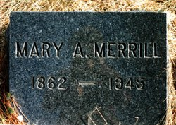 Mary A <I>Robichaud</I> Merrill