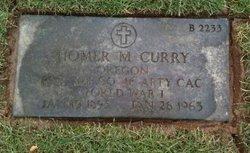 Homer M Curry