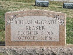 Beulah <I>McGrath</I> Keaser