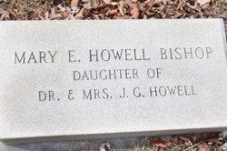 Mary Elizabeth <I>Howell</I> Bishop