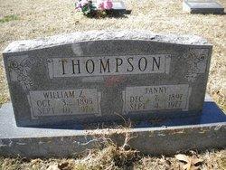 Fanny Marie <I>Finley</I> Thompson