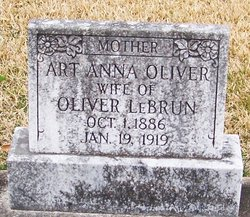Art Anna <I>Oliver</I> Lebrun