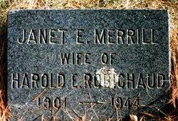 Janet <I>Merrill</I> Robichaud