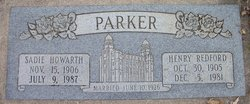 Henry Redford Parker