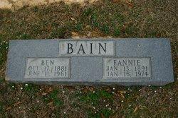Benjamin Franklin Bain