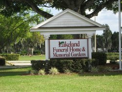 Lakeland Memorial Gardens 2125 S Bartow Road Lakeland Florida.