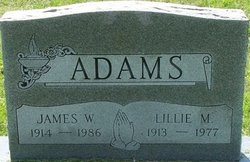 Lillie M. Adams
