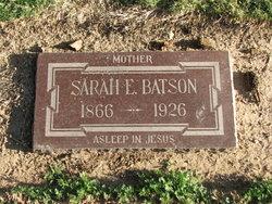Sarah Ellen <I>Jackson</I> Batson