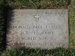Donald Paul Curley